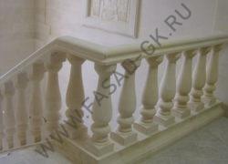 Лестница из известняка