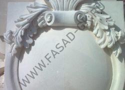 Медальон из известняка
