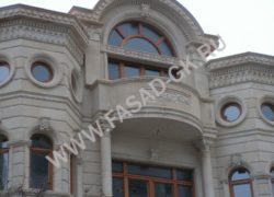 Декоры и фасад из раушечника