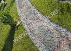Дорожки из колотого гранита (Покостовка)