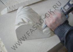 Изготовления замкового камня из Ракушечника