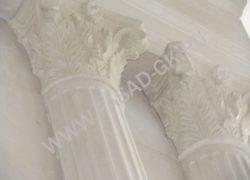 Капители на колонны из песчаника