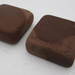 Брусчатка огалтованная, Песчаник терракото-красный. 40x100x100