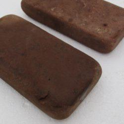 Брусчатка огалтованная, Песчаник терракото-красный. 40x100x200