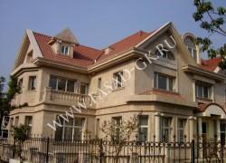 Облицовка фасада природным камнем - дагестанским ракушечником