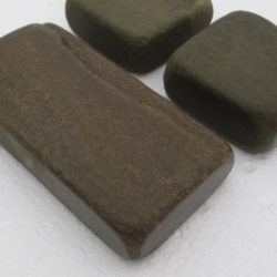 Брусчатка огалтованная. Песчаник серо-зеленый, 40x100x100x200